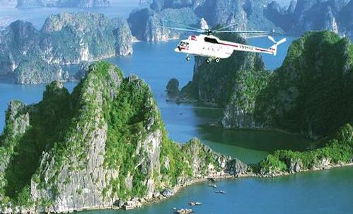Halong Bay helicopter tour - 3 days